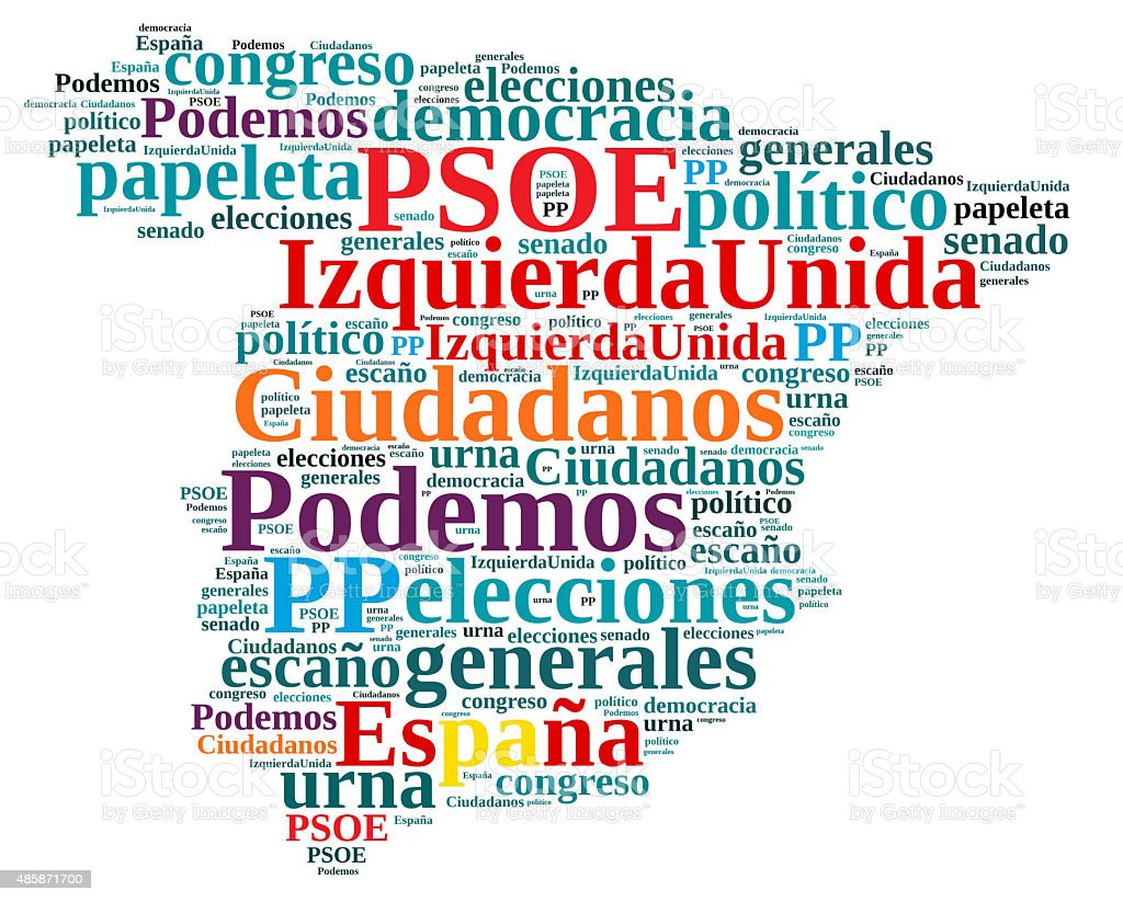 Elections in Spain. stock photo
