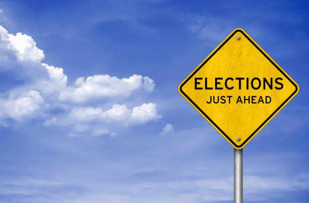 Elections - just ahead stock photo