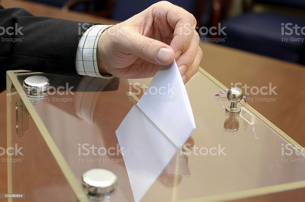 Elections royalty-free stock photo