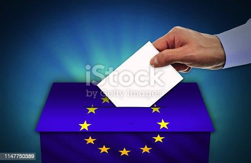 istock EUROPEAN UNION elections 1147750389