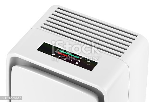 177118473 istock photo Electric air purifier 1124223787