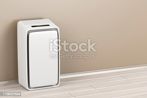 177118473 istock photo Electric air purifier 1126207534