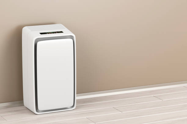 Electric air purifier Electric air purifier in the room air filter stock pictures, royalty-free photos & images