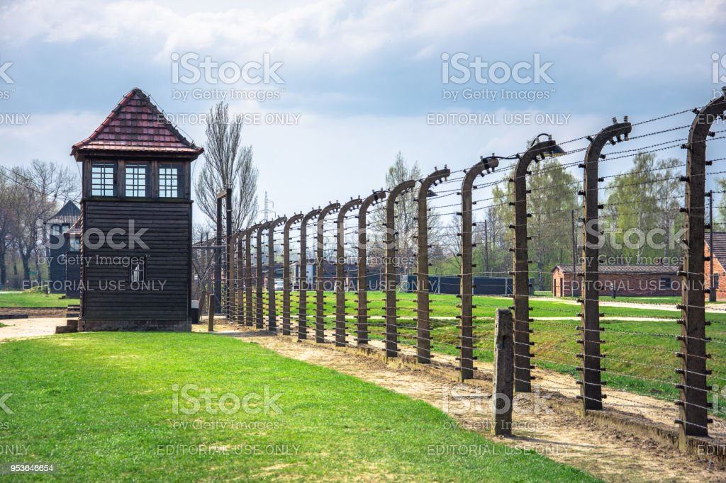 Electric Barbed Wires Of The German Nazi Concentration And