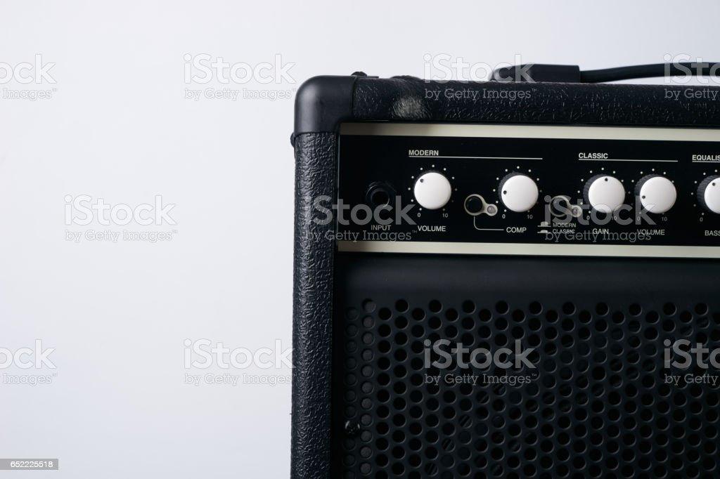 電貝司吉他黑色皮革放大器圖像檔