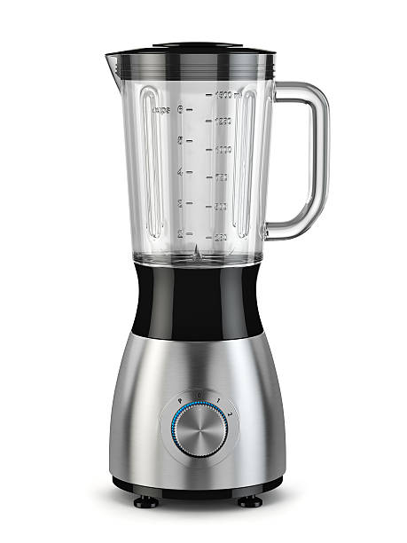 Electric blender. Kitchen appliance, equipment isolated on white Electric blender. Kitchen appliance, equipment isolated on white. 3d blender stock pictures, royalty-free photos & images