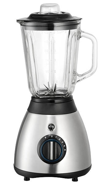 Electric Blender Black & Stainless surface blender isolated on white background with clipping path blender stock pictures, royalty-free photos & images