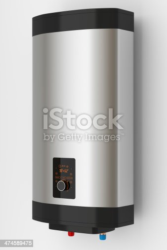 istock Electric boiler with smart control 474589475