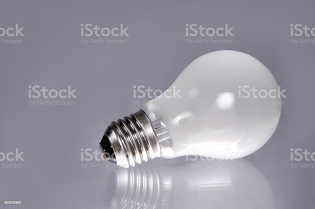 Electric bulb. royalty-free stock photo
