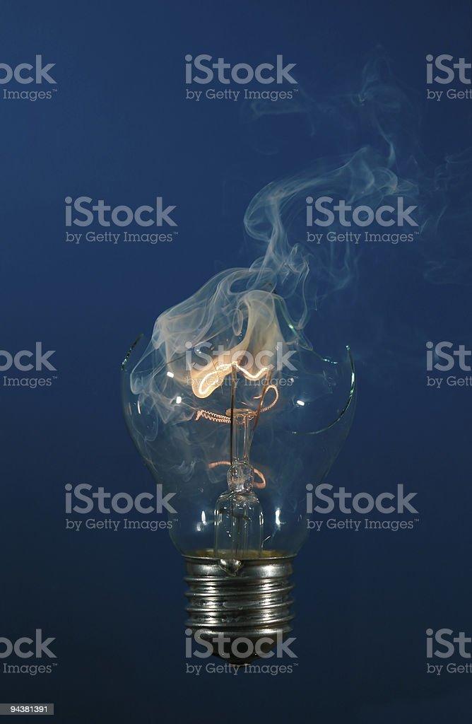 Electric bulb stock photo
