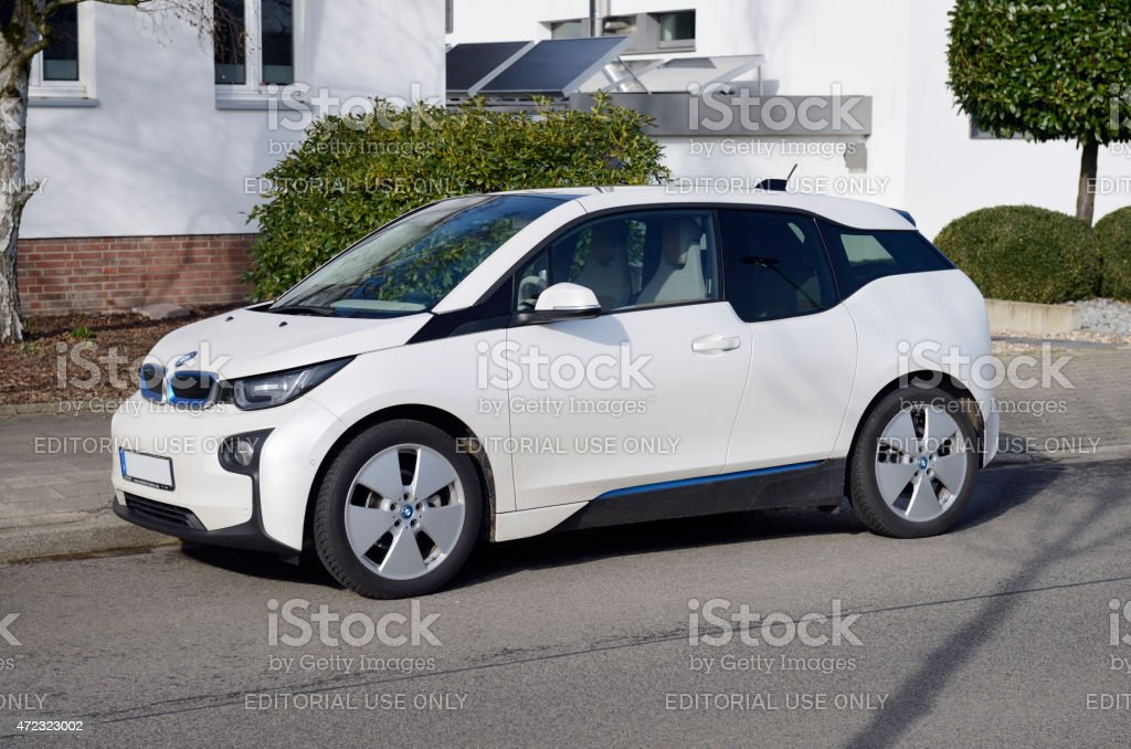 Electric Car Bmw I3 Stock Photo Download Image Now Istock