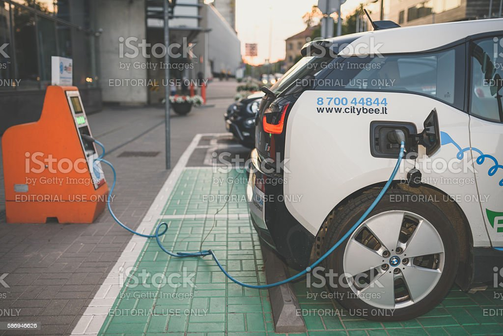 Electric car BMW I3 – Foto