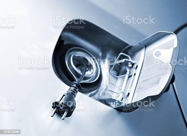 Electric Carladestationen Für Elektrofahrzeuge Stockfoto und mehr Bilder von Elektroauto