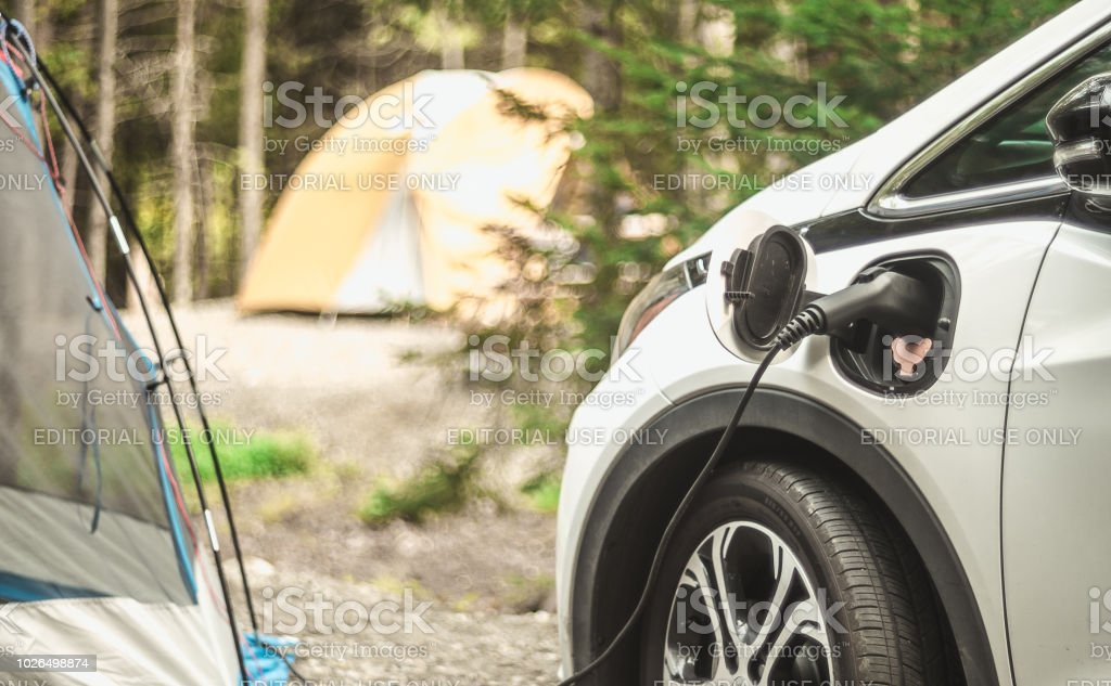 De recharge pour les voitures électriques - Photo