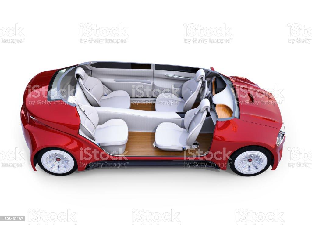 Elektroauto-Dashboard-Konzept – Foto