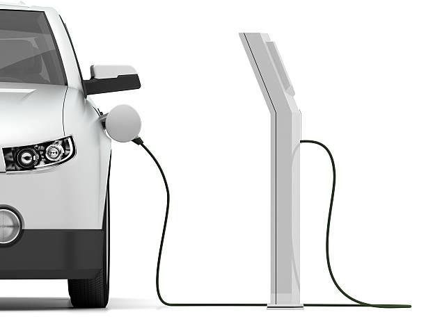 Automobile elettrica - foto stock