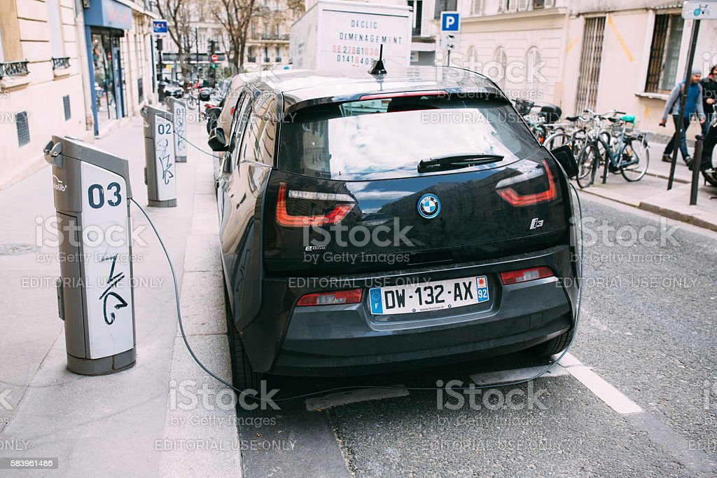 BMW I3 Electric car – Foto