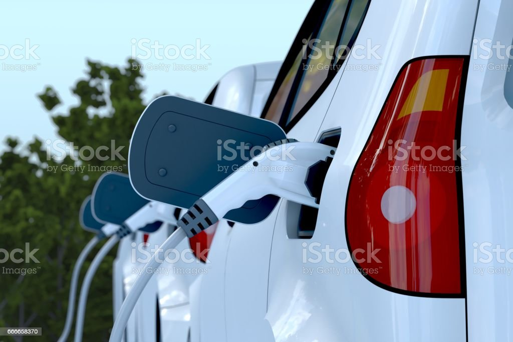Electric Car - foto stock