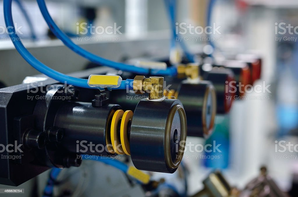 Electric Compressor Motors stock photo