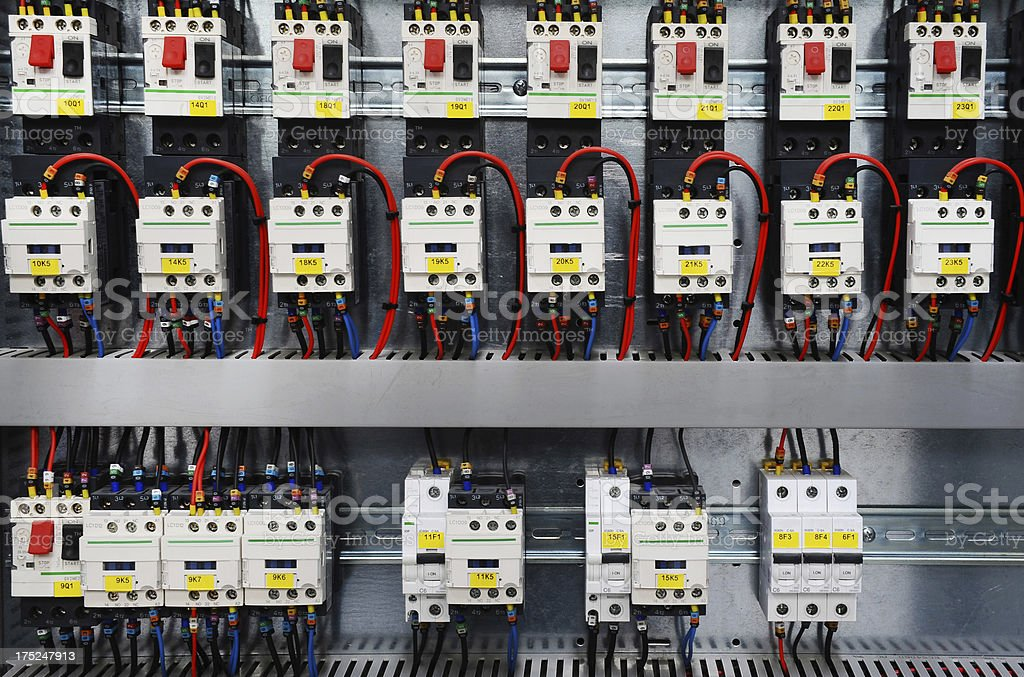 Electric control equipment royalty-free stock photo