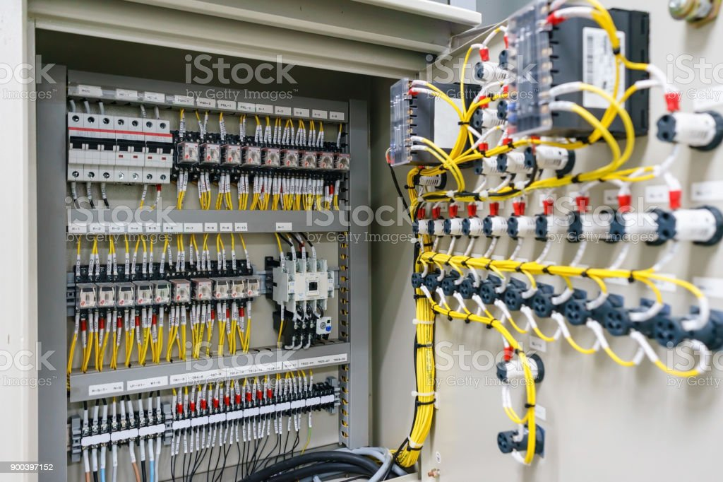 Electric Control Panel Enclosure For Power And Distribution ...