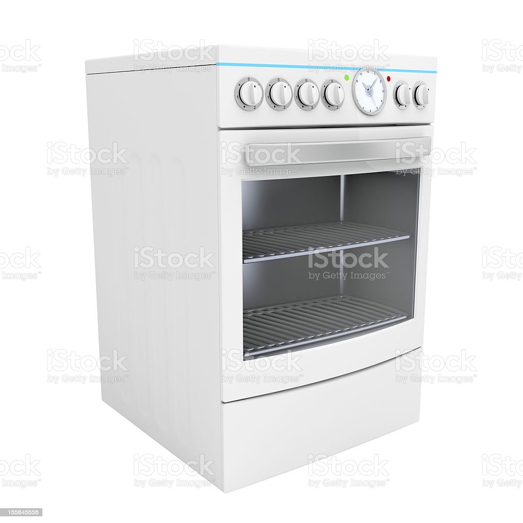 Electric cooker stock photo