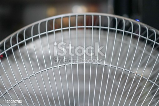 898247648 istock photo Electric fan at home. Made of metal. 1152020750