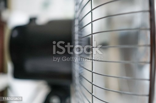 898247648 istock photo Electric fan at home. Made of metal. 1152020825