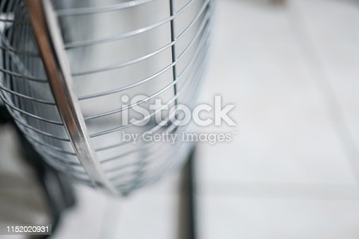 istock Electric fan at home. Made of metal. 1152020931