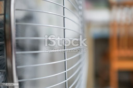 898247648 istock photo Electric fan at home. Made of metal. 1152020959