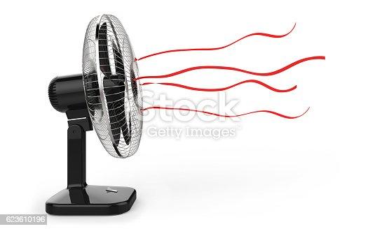 istock Electric fan 623610196