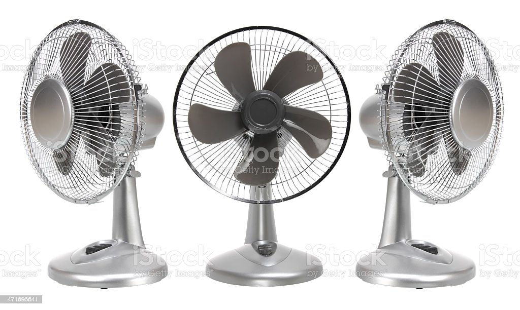 Electric Fans royalty-free stock photo
