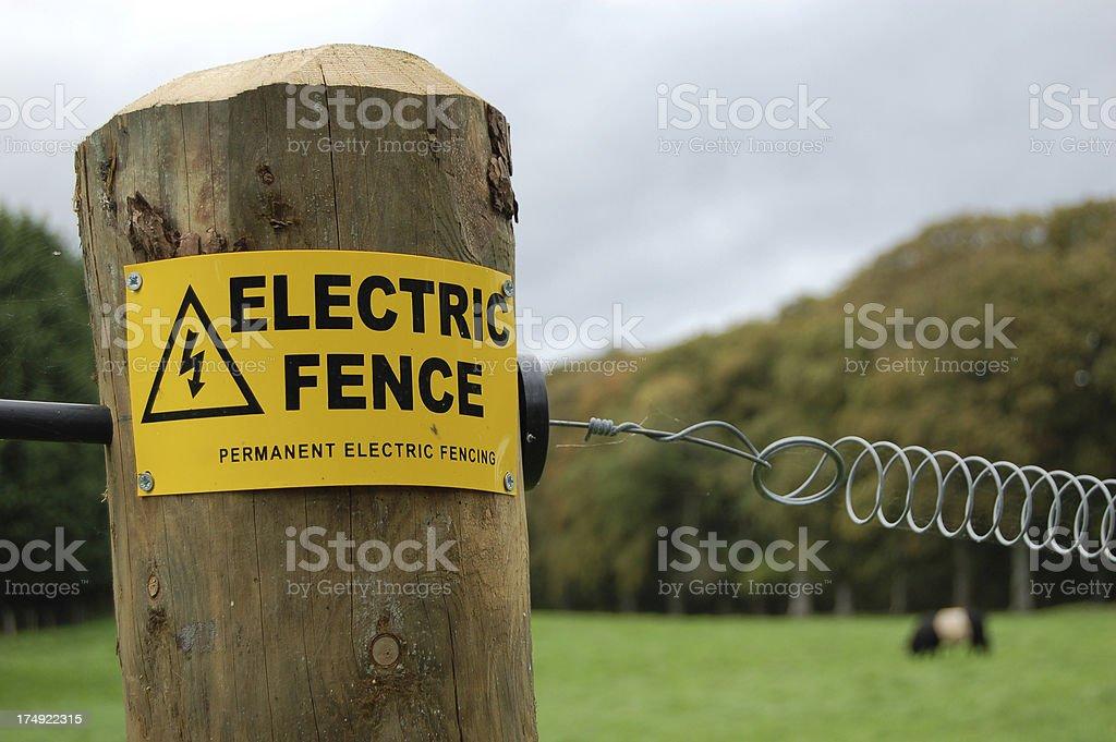 Electric muro - foto de acervo