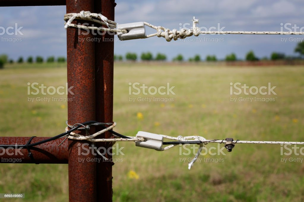 Electric valla - foto de stock