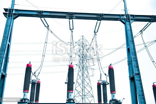 istock Electric Generator Components 865533576