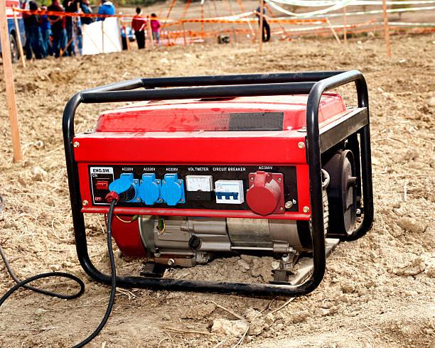 Elektrischer generator – Foto