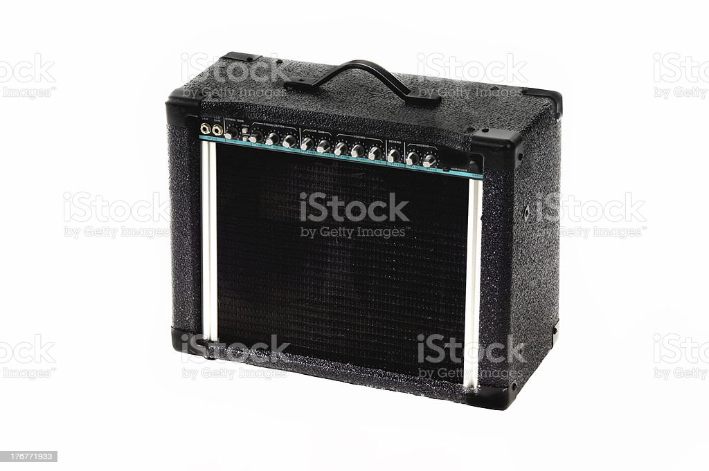 Electric Guitar Amp royalty-free stock photo