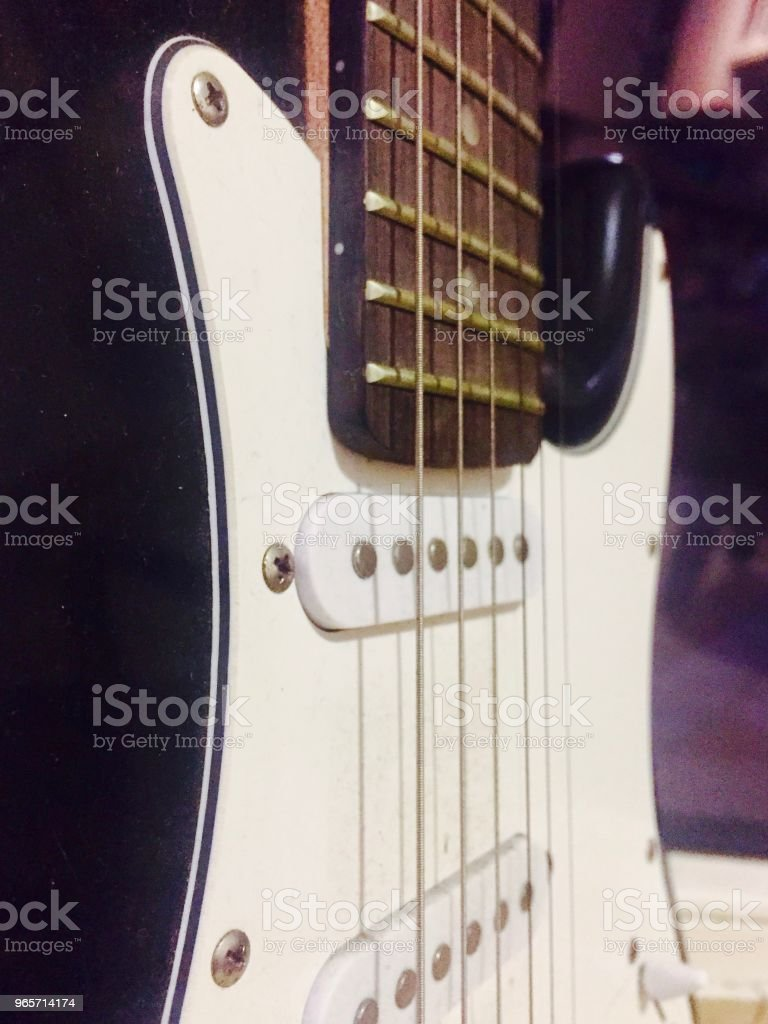 Electric guitar closeup - Royalty-free Arts Culture and Entertainment Stock Photo