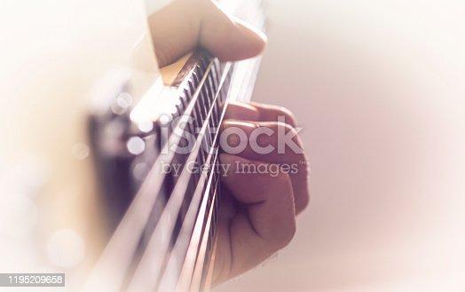 istock Electric guitar 1195209658