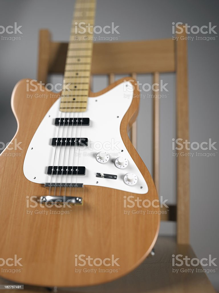 Electric Guitar royalty-free stock photo