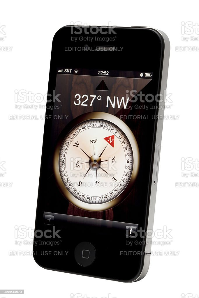 Electric Gyro-Compass royalty-free stock photo