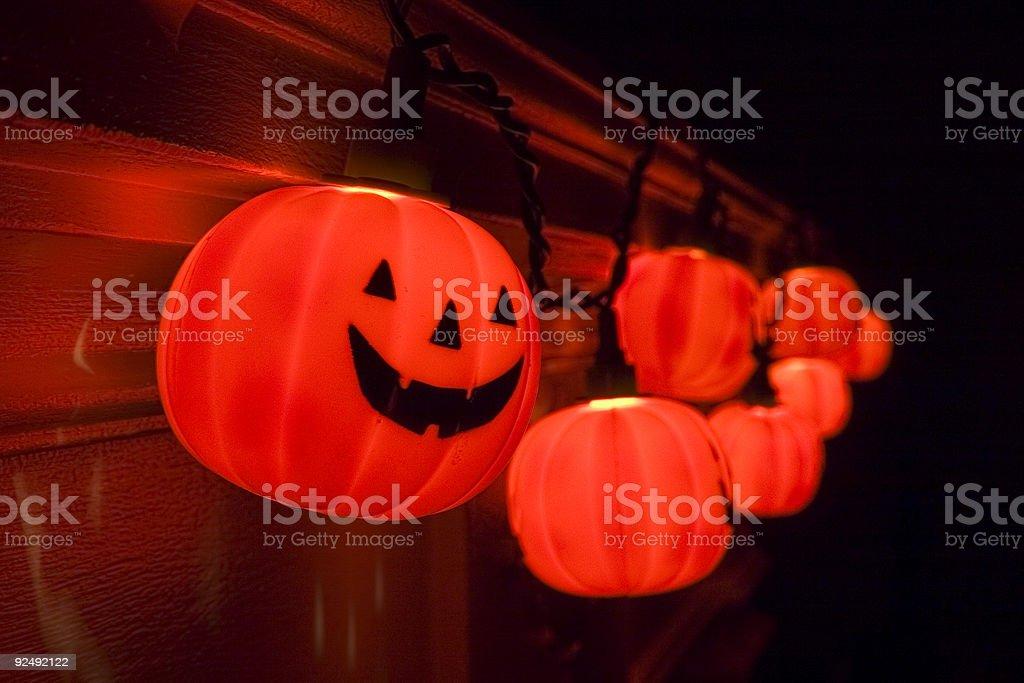 Electric Halloween 1 royalty-free stock photo