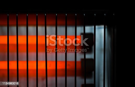 electric heater abstract background device hot