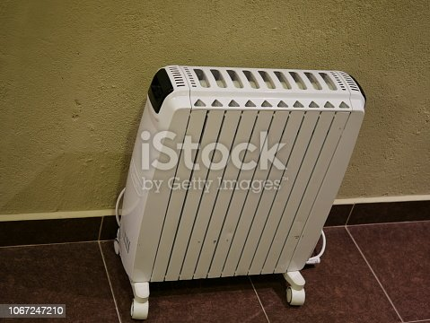 istock Electric heaters in the room 1067247210
