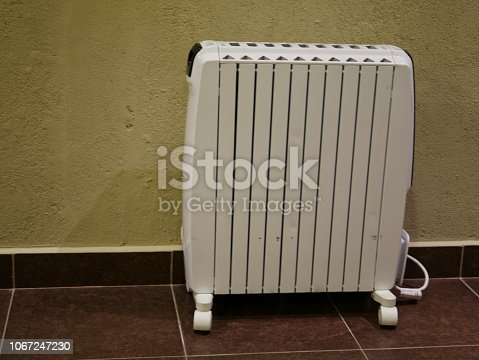 istock Electric heaters in the room 1067247230