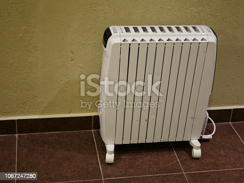 istock Electric heaters in the room 1067247280