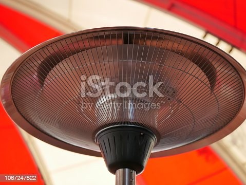 istock Electric heaters in the room 1067247822