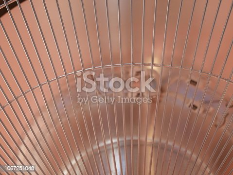 istock Electric heaters in the room 1067251048