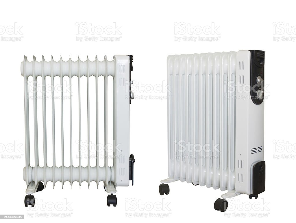 Electric heating stock photo