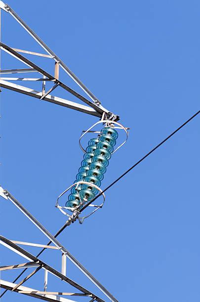 electric insulator stock photo